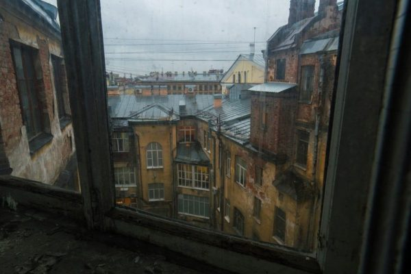 Петербург дворы