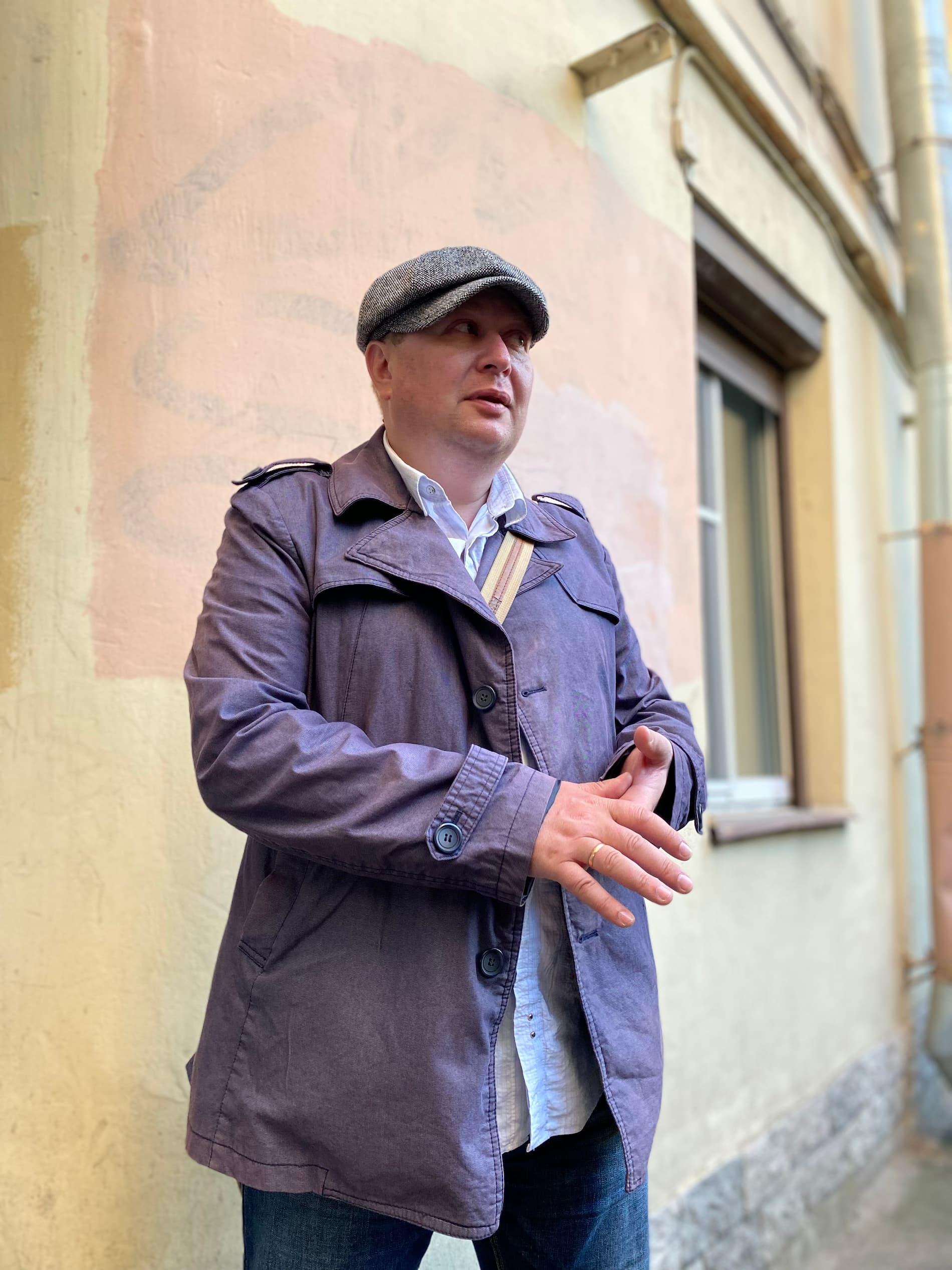 Александр гид в Санкт-Петербурге